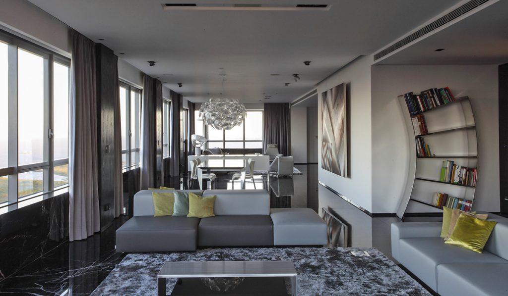 Ghế sofa giảm thiểu tối đa các vật dụng cá nhân