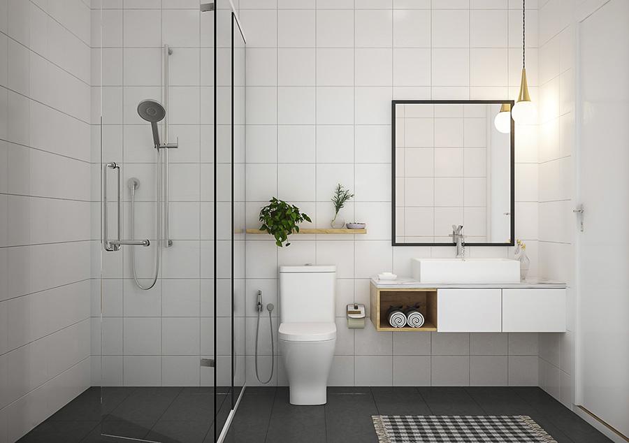Phòng tắm – Góc thư giãn tuyệt đối