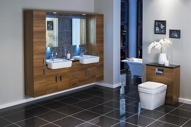 Phòng tắm và nhà vệ sinh cùng 1 phòng